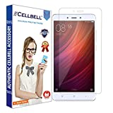 CELLBELL® Xiaomi Redmi Note 4 Tempered Glass Screen Protector With FREE Installation Kit