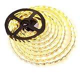 LE 5m DIY Streifen, 5050 300 LEDs, 3000K warmweiß strip, led Lichtleisten, 720lm/m Lichtband.