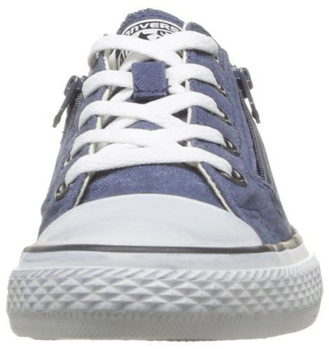 Converse - Chuck Taylor All Star Rock Wash Double Zip, Sneaker Unisex – Bambini Marine
