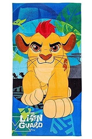 Disney Le Roi Lion Serviette de Plage/Drap de bain 70x 140cm, original sous licence