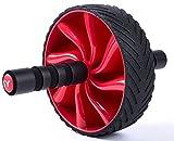 SYCHENG - Rodillo de Rueda AB para 6 Unidades Abs & Core Workout, Equipo de Entrenamiento en casa, con cómodas Asas de Espuma y Almohadilla Extra Gruesa para Rodilla y Rueda de Goma Antideslizante