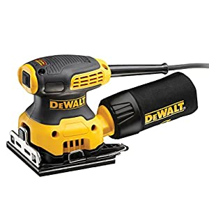 Dewalt DWE6411Z-IT Lijadora Orbital 230W-1/4 hoja-14.000 opm Acoplamiento para persianas de Madera