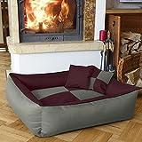 Beddog 2in1 MAX QUATTRO marrone/nero XXL, 120x85 cm, letto per...