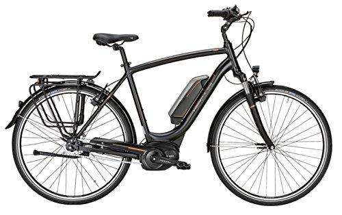 HERCULES Robert F7 E Bike E-Bike Pedelec Elektrofahrrad 28″ Herren 52cm Rahmen 400W Akku Schwarz Matt Modell 2017