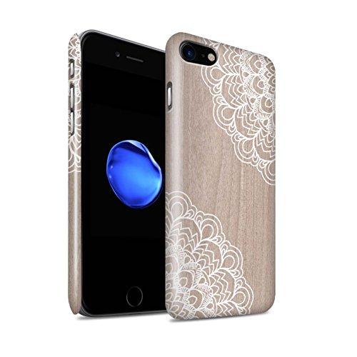 STUFF4 Glanz Snap-On Hülle / Case für Apple iPhone 5C / Bambus Muster / Fein Spitzenborte Holz Kollektion Ahornholz