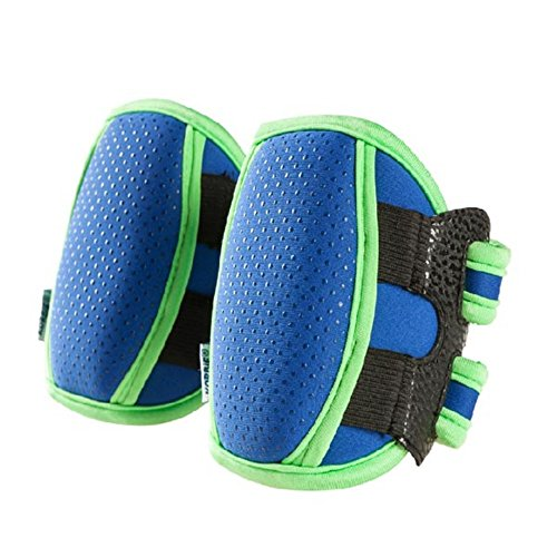 kungfu-mall-baby-super-thick-kneepad-crawl-knee-elbow-pad-wristbands-blue