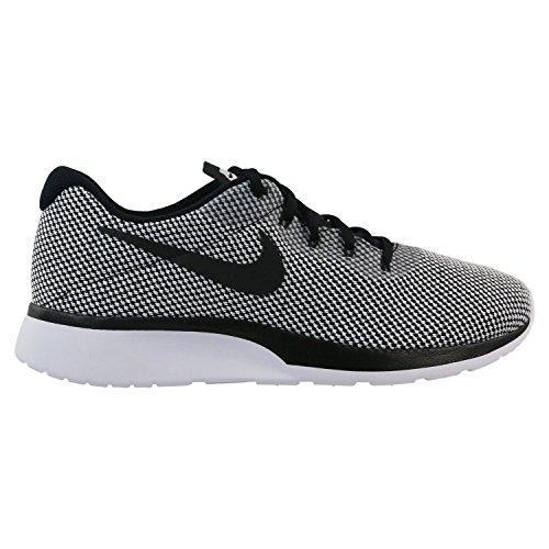 Nike Herren Sneaker Tanjun Racer, Schwarz (Black-White), 43 EU