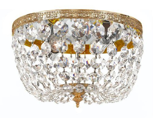 710-ob-cl-mwp-richmond-2lt-flush-mount-olde-brass-finish-with-clear-hand-cut-crystal-by-gold-coast-l