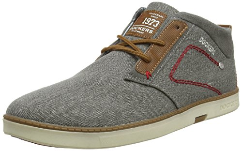 Dockers by Gerli Herren 38SE001-706200 Sneaker, Grau (Grau 200), 43 EU