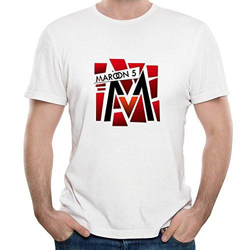 Portada del libro Roy hombres de Puzzle Adam Levine Pop Rock Maroon 5azúcar camiseta camiseta de manga corta