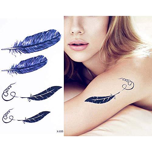 Adgkitb autoadesivo temporaneo del tatuaggio della decalcomania impermeabile del braccio della vita del tatuaggio 5pcs 10.5x6cm