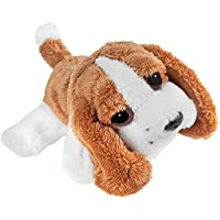 JJays Store Great Value Soft Plush Stuffed Cuddly Animal Toy - Bassett Hound Dog - My First Cuddly Toy - Makes a Great Gift / Present for Boys & Girls