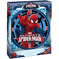 Orologio da parete 24 cm Ultimate Spiderman Marvel Originale - Disney Wall Hanging