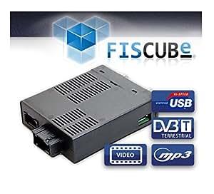 FISCUBE ® (38358) DVB-T, USB, MP3 Multimedia Interface pour Audi MMI 2G haute sans une Caméra de Recul par Exemple, A4 (8K), A5 (8T), A6 (4F), A8 (4E) et Q7 (4L)
