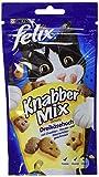 Felix Knabber Mix Katzensnack Dreikäsehoch, 60g