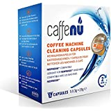 "Caffenu Nespresso Coffee Machine Cleaning Capsules, Pack Of 5 ""The Coffee Color Dirt Is Visible To The Eye."" With A Scald Cleaner, You Can Remove The Oxidation Dirt Of Coffee That Will Not Fall."
