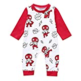 i-uend Baby 2019 Overall - Kleinkind Neugeborenes Baby Langärmelige Cartoon Brief Strampler Overall Kleidung Für 3-24 Monate