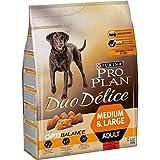 PRO PLAN DUO DELICE - Riche en Bœuf - 2,5 KG - Croquettes pour chien adulte