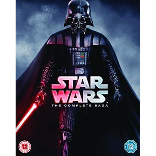 Star Wars: The Complete Saga (9 Blu-Ray) [Edizione: Regno Unito] [Reino Unido] [Blu-ray] 1