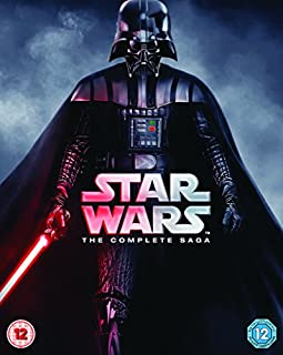 Star Wars - The Complete Saga [Blu-ray] [1977] [Region Free] (B013GTX6JI) | Amazon Products