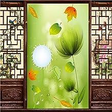 Papier Peint Papier Adhesif Decoratif Tableaux Muraux Déco Personnalisé 3D Papier Peint Design Moderne Fresh Green Pissenlit Hôtel Hall Plafond Mural Papier Peint Décoration Fond150 * 105 Cm