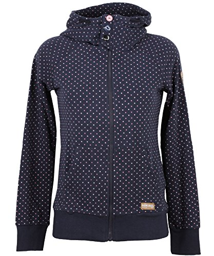 Ragwear Femme Hauts / Sweat à capuche zippé Chelsea Bleu