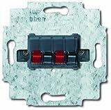 Busch-Jaeger 0248/05-101 Stereo-Lautsprecher-Anschlussdose