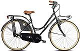 Esperia 02288D, Bicicletta Donna, Nero, 28