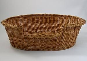 PnH® Luxury Wicker Dog Basket - Large (90cm)