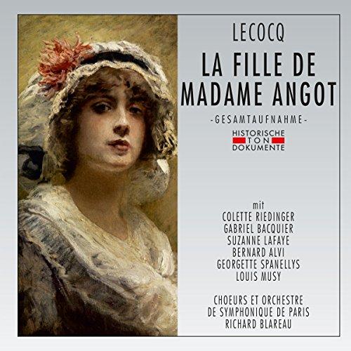 La Fille de Madame Angot [Import allemand]