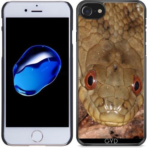 Leder Flip Case Tasche Hülle für Apple iPhone 5/5S - Diamondwasserschlange by loki1982 Hartplastik