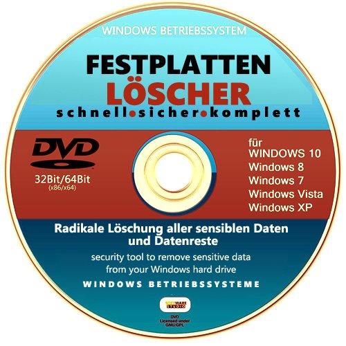 Festplatten HDD Löscher.Formatierer Datenvernichter.Sicher und Schnell. - Löschen Festplatte