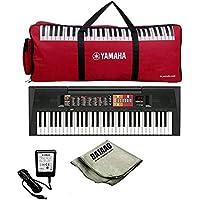 Yamaha PSR-F51 Portable KeyboardWith Keyboard Gig bag, Adaptor and Polishing Cloth
