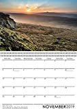 Scenic British Calendar 2019, Derbyshire Calendar, National Park Calendar, Countryside Calendar, Scenic Calendar 2019, Peak District Calendar 2019