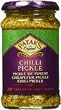 Patak'S Chili Pickle, Peperoncini Piccanti Tritati in Salamoia - 2 pezzi da 283 g [566 g]