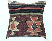 Kelim Cuscino 40x40 cm fatto a mano turco prodotto federe kilim dekorativo orientale etnici cuscino A329