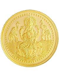 Malabar Gold & Diamonds 24k (999) Laxmi Combo 3 gm (2 + 1 Gm) Yellow Gold Coin