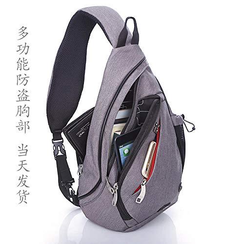 Shoulder Messenger Bag_Original Men's Chest Bag Simple Women's Shoulder Multifunction Wholesale