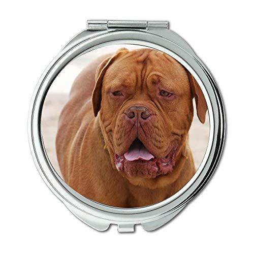 Yanteng Spiegel, Kleiner Spiegel, Elefant und Hund, Taschenspiegel, 1 X 2X Vergrößerung 009 Ram