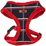 Puppia Scholastic Harness A, Extra Large, Red
