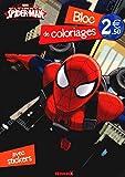 Spider man - Bloc de coloriages avec stickers...