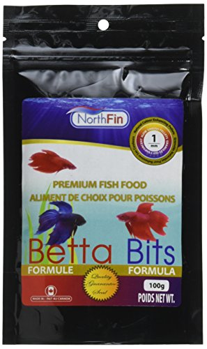 NorthFin Fish Food Betta Formula - 1mm pellets - 100g - Best food for bettas and fighter fish