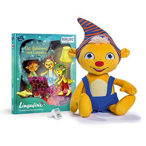 Monsterzeug Kobold Lernspielzeug für Kinder, Sprechendes Plüsch Spielzeug mit Spracherkennung, Spiel zur Sprachförderung 4 bis 7 Jahre