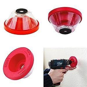 Bohrstaubfänger Staubfänger für Bohrmaschine bis 10 mm Bohrer
