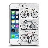 Head Case Designs Imprimé Rapidement Vélos Rétros Étui Coque en Gel molle pour Apple iPhone 5/5s/SE