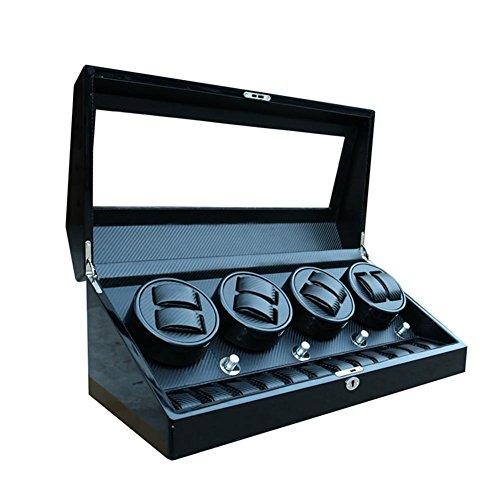 SHISHANG 8 + 12 High-End-Automatik-Box mechanische Uhr rotierenden Box auf der Uhrenbox Display-Box 60 * 26 * 25 * cm , 003