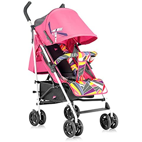Fashion Lightweight Baby Stroller & Pram, Portable, Folding Pushchair, Children Umbrella Cart, Baby Carriage - Pink Umbrella Passeggino