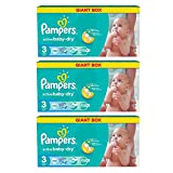 Pampers Windeln Baby Dry Midi 3 Gr. 4-9 Kg Bis
