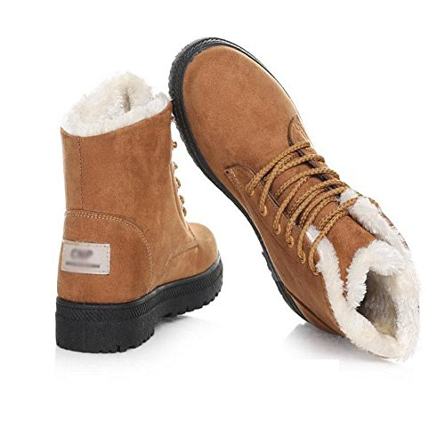 Botas De Algodón Para Mujeres. Peluche Cómodo Y Resistente Al Desgaste. Invierno Cálido 42