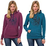 Animal Womens Sketched Hoodie